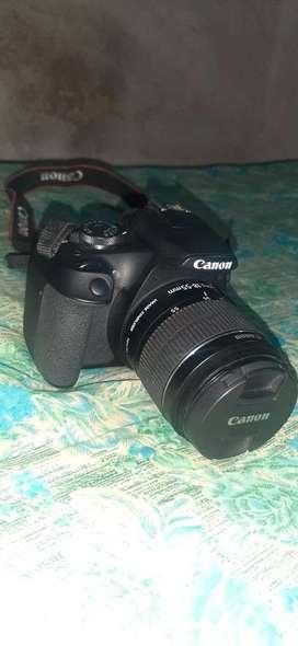 Cannon 1500d single lenss 18-55