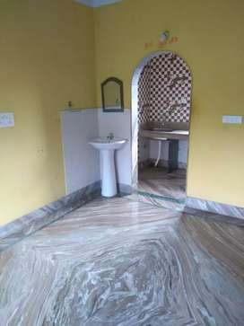 2BHK flat with full marble/tiles finished