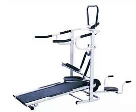 treadmill manual 5 fungsi treadmil JN-480 alat fitnes