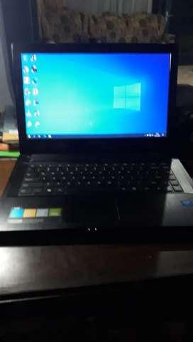 Laptop lenovo g40 siap pakai jual murah cepat