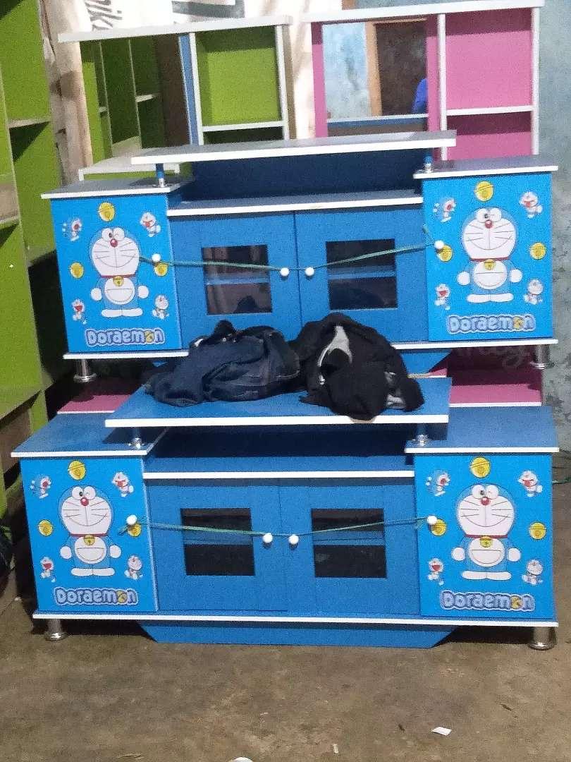 Furniture modern Meja Tv Berkarakter Doraemon. Pembayaran Bisa COD