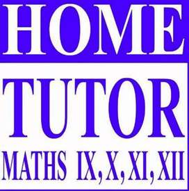 Maths home tuition at your home