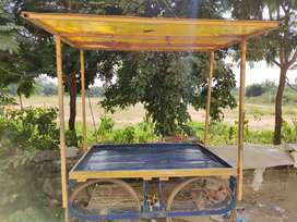 Vegetables selling vehicle, completely iron frame, new tyres, goodused