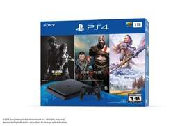 Ps4 1tb bundle with 3 games. Sony Playstation 4