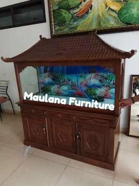 Meja aquarium bufet cantik 4478