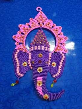 macrame Ganesha