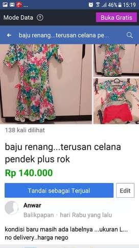 baju renang baru