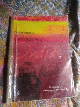 Class 10 NCERT Geography Book