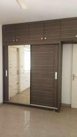 Three BHK semi furnished posh luxurious flat rent Louurds school