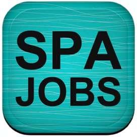 Spa job fresher girls requirements