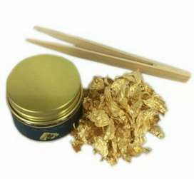 24k edible gold leaf