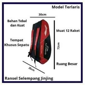 Tas Raket Ransel Li-Ning 3R Badminton