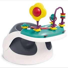 Baby booster / chair / kursi mkn mamas & papas dg meja & mainan