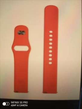 Realme watch strap,red colour