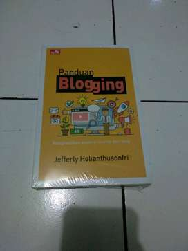 Buku Panduan Blogging Komputer Elex Media
