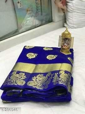 Beautiful women cotton sarees