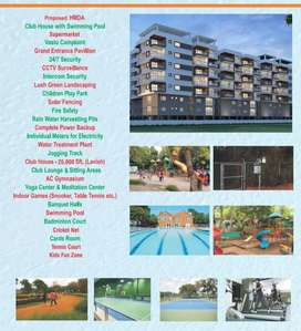 Pay 10 lakhs and remaining amount go for loan  and get a new own flat