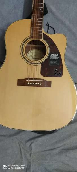 Epiphone AJ220 SCE Solid wood high end guitar