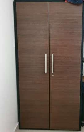 Wardrobe (wood colour )
