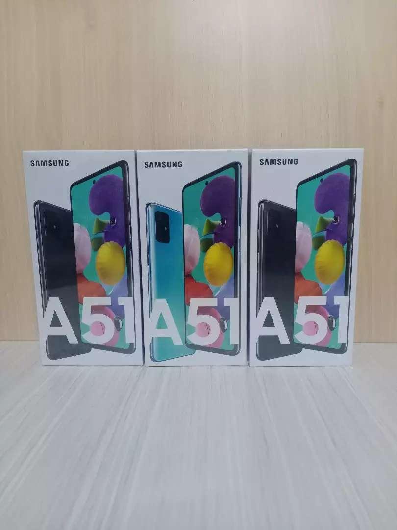 Under sale Samsung a51 ram 8/128gb