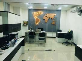 Fully furnished office space is available for rent in RS Puram