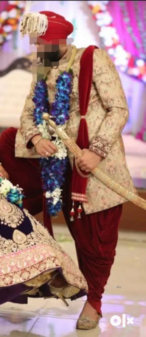 Wedding sherwani for sale 0