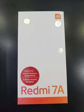 Xiaomi redmi 7a ( bisa cash dan cicilan)