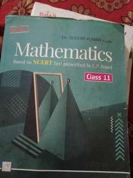 Mathematics Book NCERT based Class 11th