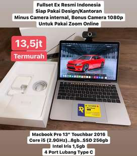 "Macbook Pro 13"" Touchbar Fullset"