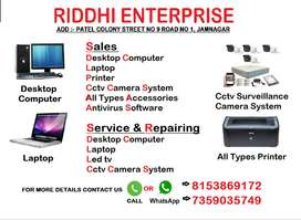 All Types Computer,Led Cctv,Laptop Sales & Services