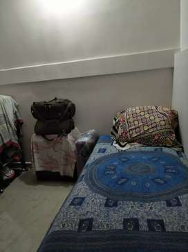 Independent room for girl with attached bathroom.