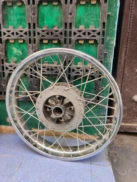 ROYAL ENFIELD CLASSIC BULLET 350 (BS4) RIMS (only 1 month used)