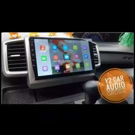 Wow 2din for HONDA FREED android asli 10inc mantep+cmera hd gan mantul