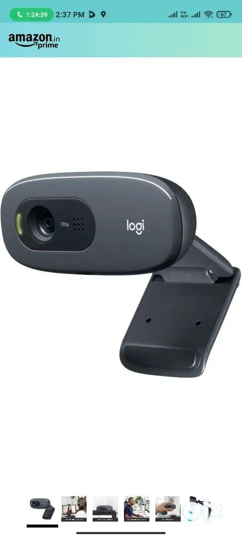 Logitech webcam C270 1 year old