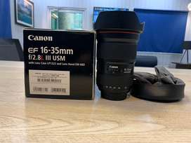 Canon EF 16-35mm 2.8L lll is for sale