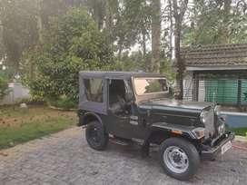 Willys ...Perfect body... 1961 model army vehicle..1980 re registered