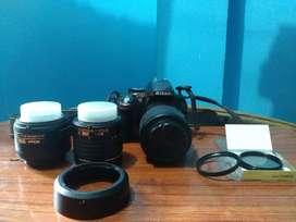 Nikon D5200, Nikon 18-55mm, 55-200mm and 35mm prime lenses