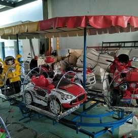 Odong odong MRC isi 8 kereta mini coaster RAA