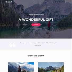 Jasa Pembuatan Website Outdoor Adventure