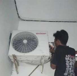 Melayani service panggil perbaikan AC,kulkas,m.cuci,dll BERGARANSI