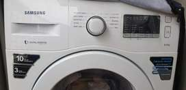 Samsung 6 kg washing machine. 6 months old with bill and warranty