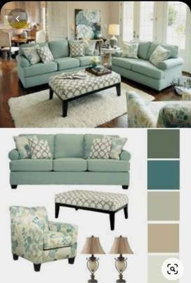 7 seater sofa with big cushions