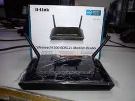 D_link Wireless N300 ADSL2+Router