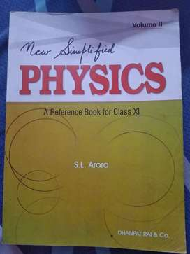 Physics by S L Arora (Class 11)