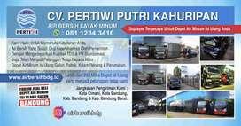 Jasa Air Bersih Penyalur Air Bersih Pertiwi Cimahi Bandung