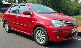Toyota Etios 1.4 VXD, 2012, Diesel