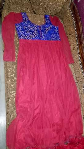 Red colored new Suit for Women