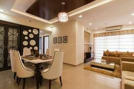 3bhk flat with long carridor and lake view