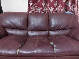Sofa 3yr Modernly used