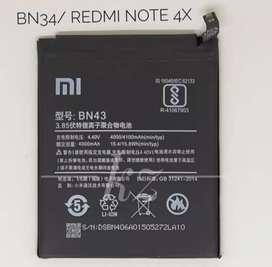 Batre Xiaomi Redmi Note 4X
